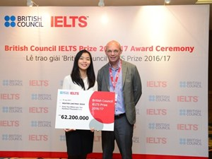 Cơ hội nhận giải thưởng IELTS với tổng trị giá trên 1,8 tỷ đồng