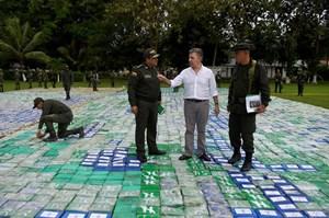 Colombia bắt lượng ma túy lớn nhất lịch sử