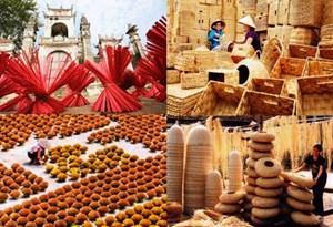 Vinh danh làng nghề may comple truyền thống xã Vân Từ
