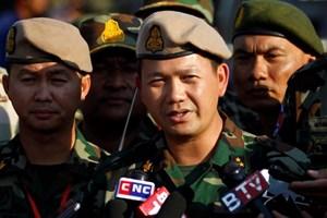 Con trai Thủ tướng Hun Sen nắm chức tư lệnh quân đội
