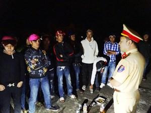 Công an Đắk Lắk ngăn chặn kịp thời nhóm đua xe đêm Noel