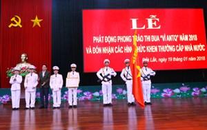 Công an Đắk Lắk: Tỉ lệ phá án đạt 86,7%