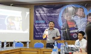 Công bố chương trình 'Tiết kiệm vì miền Trung yêu thương'