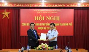Công bố quyết định chỉ định Bí thư Đảng ủy Thanh tra Chính phủ