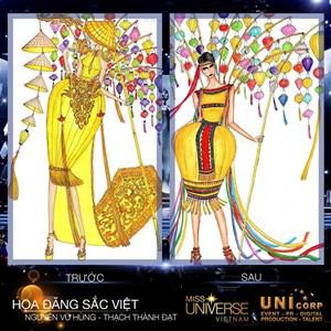 Công bố Top 6 thiết kế cho đại diện Việt Nam tại Miss Universe