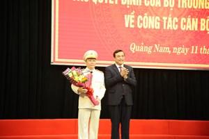 Quảng Nam có tân Giám đốc Công an tỉnh