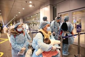 Chuyển trang thiết bị y tế và đón một số công dân có hoàn cảnh đặc biệt từ Nhật về nước