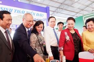 Chủ tịch Quốc hội dự lễ khai mạc Hội chợ Du lịch quốc tế Cần Thơ