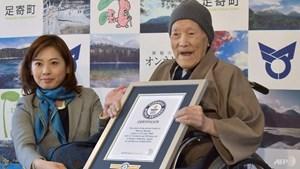 Cụ ông lớn tuổi nhất thế giới