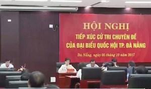 Cử tri Đà Nẵng muốn biết về 37 lô biệt thự ở Sơn Trà