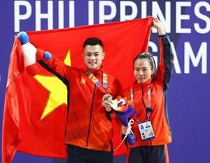 Đoàn Thể thao Việt Nam lập thành tích xuất sắc