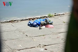 Cứu người tự tử, người đàn ông 60 tuổi chết đuối ở hồ Thiền Quang