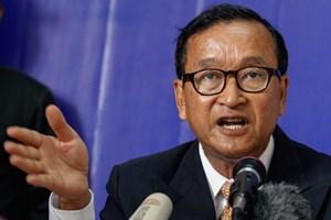 Cựu thủ lĩnh đối lập Campuchia bị buộc tội phản quốc