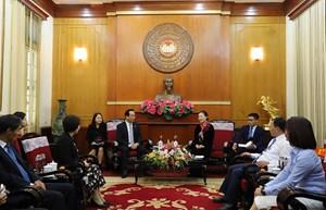 Tăng cường sự phối hợp giữa MTTQ Việt Nam và Chính hiệp Trung Quốc