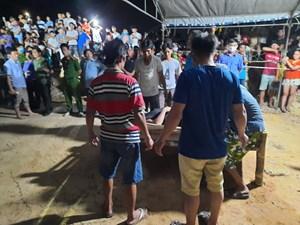 Quảng Nam: Đã tìm được cả 5 thi thể trong vụ lật ghe trên sông Thu Bồn