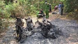 Thừa Thiên – Huế: Điều tra việc 3 xe máy của cán bộ bảo vệ rừng bị thiêu rụi