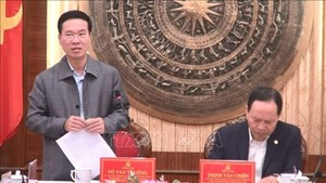 Trưởng Ban Tuyên giáo Trung ương làm việc với tỉnh Thanh Hóa