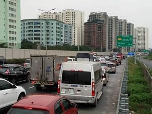 Phân luồng phương tiện đi QL1B nếu cao tốc Pháp Vân- Cầu Giẽ tắc
