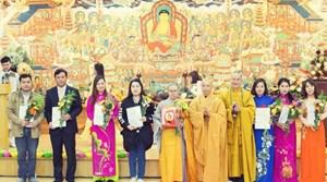 Đại lễ cầu an và Lễ công nhận Hội phật tử Việt Nam tại Hàn Quốc