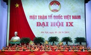 BẢN TIN MẶT TRẬN: Khai mạc Đại hội đại biểu toàn quốc MTTQ Việt Nam lần thứ IX
