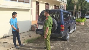 Đắk Lắk: Bắt đối tượng trộm ô tô đi cầm đồ mua ma tuý