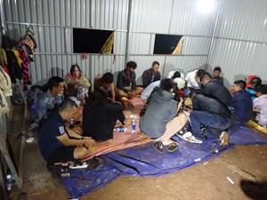 Đắk Lắk bắt giữ hơn 500 con bạc