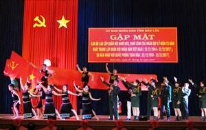 Đắk Lắk gặp mặt 428 cán bộ cao cấp Quân đội nghỉ hưu trên địa bàn