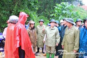 Đảm bảo an toàn cho người tìm kiếm nạn nhân mưa lũ