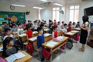 Học sinh tiểu học được đánh giá theo 3 mức