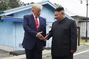 Ông Trump chúc mừng sinh nhật ông Kim Jong-un