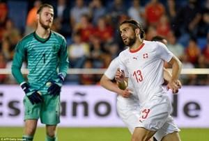 De Gea mắc sai lầm, Tây Ban Nha rơi chiến thắng trước Thụy Sĩ