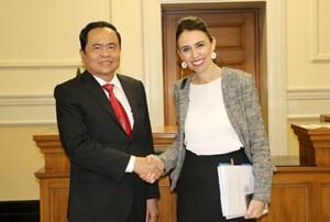 Đề nghị New Zealand tạo điều kiện tốt nhất cho cộng đồng người Việt Nam
