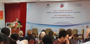 Đề xuất lập ban điều hành hợp tác nghề cá ở Biển Đông