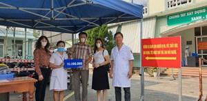 Hội Nhà báo Đà Nẵng trao 115 triệu đồnghỗ trợ chống dịch