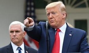 Bác sĩ Nhà Trắng: Tổng thống Trump không cần xét nghiệm Covid-19