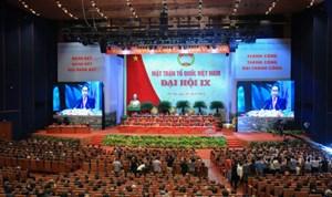 BẢN TIN MẶT TRẬN: Đại hội đại biểu toàn quốc MTTQ Việt Nam lần thứ IX, nhiệm kỳ 2019-2024 thành công tốt đẹp