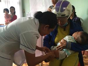 Dịch cúm, sởi có nguy cơ lây lan