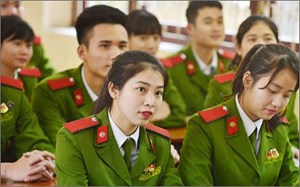 Điểm mới trong tuyển sinh vào các trường công an, quân đội năm 2018