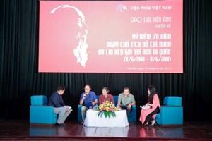 Điện ảnh chuyên đề kỷ niệm 70 năm ngày Bác Hồ ra lời kêu gọi thi đua ái quốc