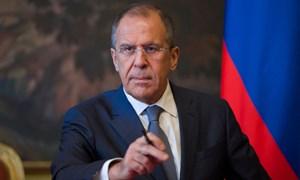 Điện mừng Bộ trưởng Ngoại giao Liên bang Nga