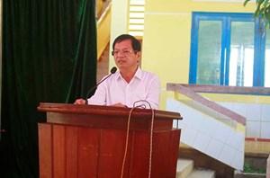 Bí thư Tỉnh ủy Quảng Ngãi đối thoại với người dân về xử lý rác thải