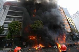 Điều tra lại vụ cháy quán karaokelàm 13 người chết