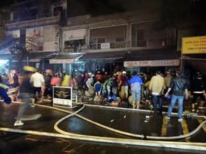 Điều tra nguyên nhân vụ cháy cửa hàng điện nước tại Kon Tum