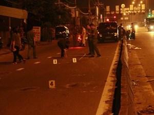 Điều tra vụ nổ súng trên đường ở TP HCM khiến 1 người tử vong