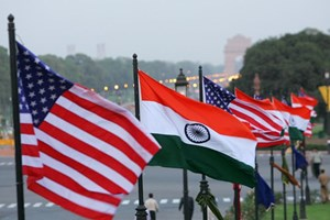 Đối thoại Mỹ-Ấn: Tập trung vào hợp tác hải quân, an ninh khu vực