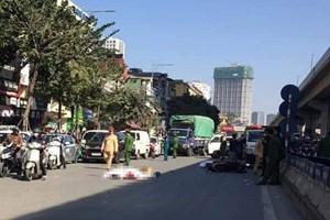 Hà Nội: Tai nạn giao thông nghiêm trọng, đôi nam nữ tử vong