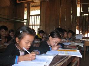 Nâng chất lượng giáo dục vùng dân tộc thiểu số
