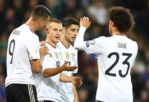 Đức giành vé dự World Cup 2018 dù thiếu Neuer, Ozil