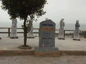 Dừng tham quan 12 tượng con giáp ở Đồ Sơn