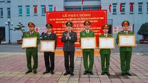 Nam Định: Gần 100 cán bộ, chiến sĩ công an được tăng cường về cơ sở đảm bảo an ninh dịp Tết